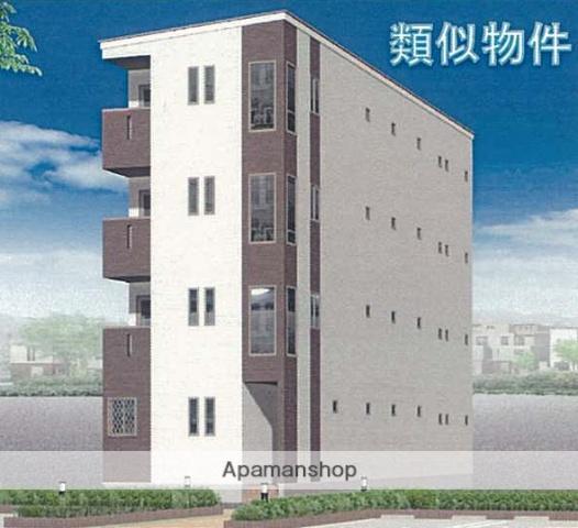 愛知県名古屋市中川区、山王駅徒歩8分の新築 4階建の賃貸アパート