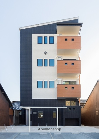 愛知県名古屋市中村区、名古屋駅徒歩9分の新築 4階建の賃貸アパート