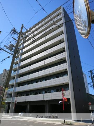 愛知県名古屋市中村区、名古屋駅徒歩8分の築1年 11階建の賃貸マンション