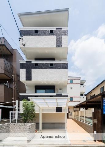 愛知県名古屋市西区、庄内緑地公園駅徒歩22分の新築 3階建の賃貸アパート