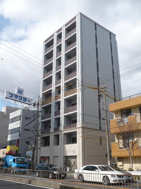 愛知県名古屋市中村区、栄生駅徒歩10分の築7年 9階建の賃貸マンション