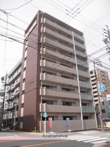 愛知県名古屋市西区、名城公園駅徒歩16分の築6年 9階建の賃貸マンション