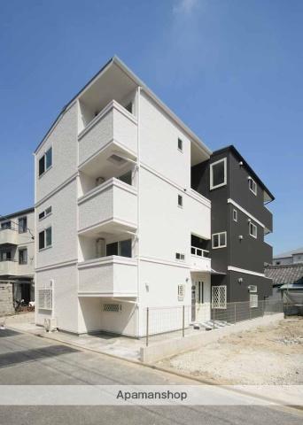 愛知県名古屋市中村区、米野駅徒歩5分の築4年 3階建の賃貸アパート