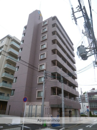 愛知県名古屋市熱田区、金山駅徒歩6分の築18年 9階建の賃貸マンション