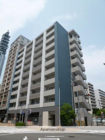 愛知県名古屋市東区、栄町駅徒歩8分の築9年 10階建の賃貸マンション