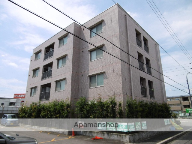 愛知県春日井市、味鋺駅徒歩9分の築14年 4階建の賃貸マンション