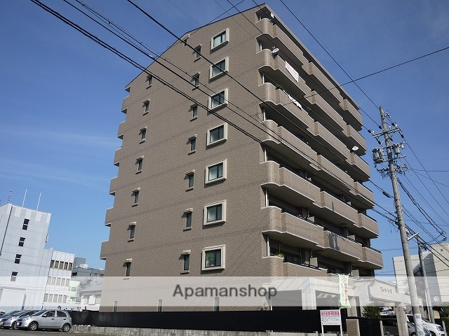 愛知県春日井市、勝川駅徒歩32分の築14年 8階建の賃貸マンション