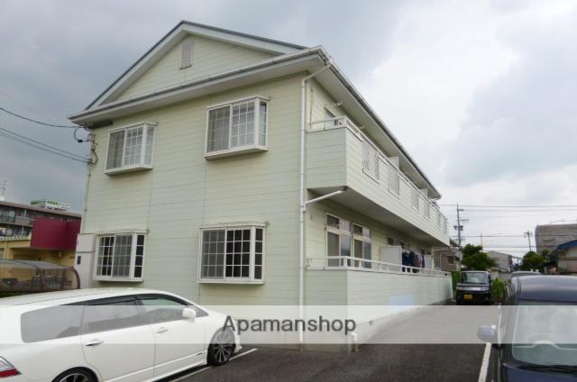 愛知県春日井市、勝川駅徒歩17分の築24年 2階建の賃貸アパート