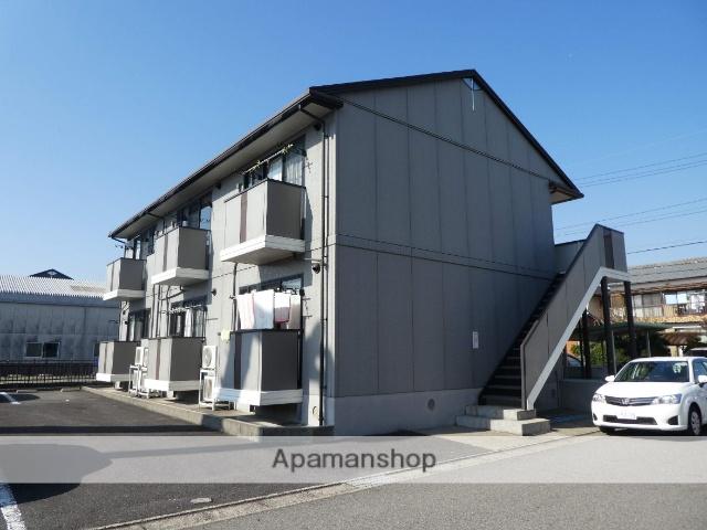愛知県春日井市、勝川駅徒歩20分の築19年 2階建の賃貸アパート