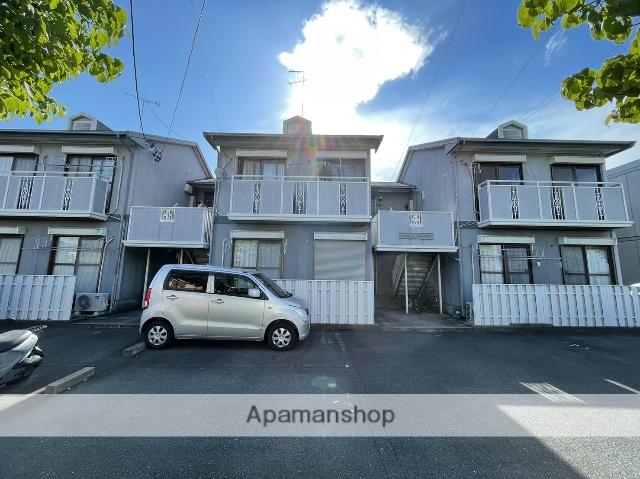 愛知県春日井市、春日井駅徒歩18分の築28年 2階建の賃貸アパート
