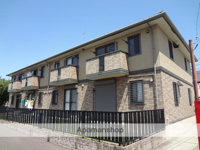 愛知県春日井市、勝川駅徒歩22分の築14年 2階建の賃貸アパート