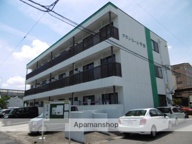 愛知県春日井市、味鋺駅徒歩20分の築20年 3階建の賃貸マンション