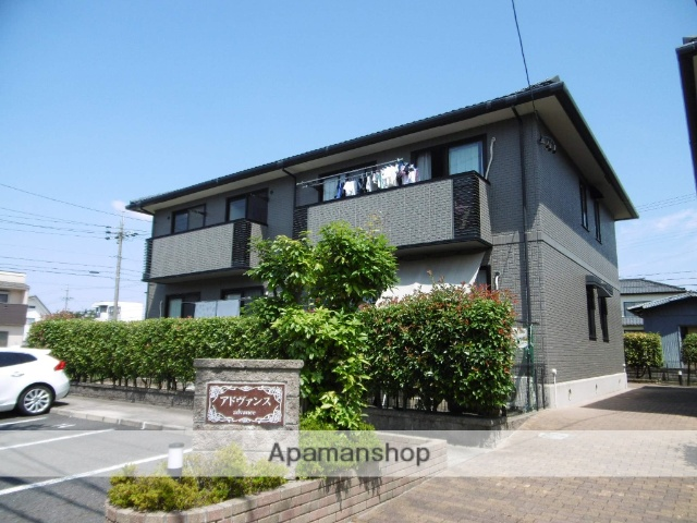 愛知県春日井市、勝川駅徒歩24分の築17年 2階建の賃貸アパート