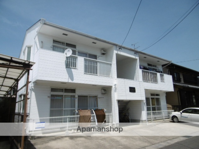 愛知県春日井市、勝川駅名鉄バスバス10分東大手下車後徒歩8分の築29年 2階建の賃貸アパート