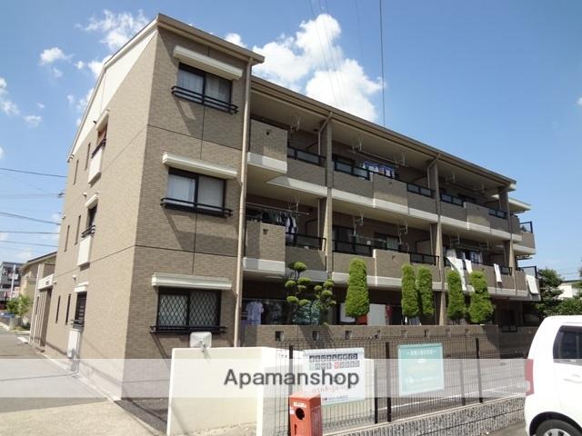 愛知県春日井市、勝川駅徒歩10分の築23年 3階建の賃貸マンション