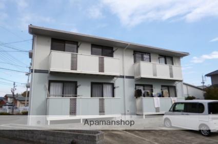 愛知県春日井市、春日井駅徒歩17分の築23年 2階建の賃貸アパート