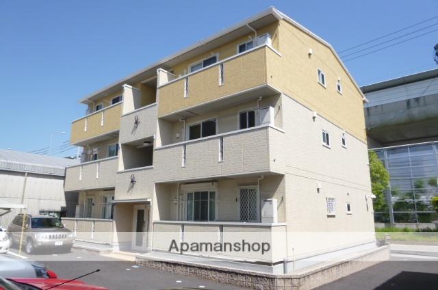 愛知県春日井市、勝川駅徒歩11分の築7年 3階建の賃貸アパート