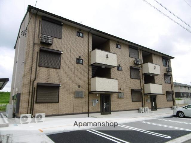 愛知県春日井市、勝川駅徒歩26分の築2年 3階建の賃貸アパート