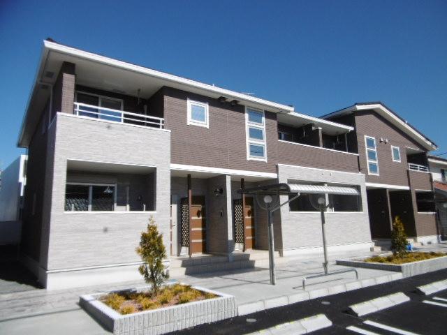 愛知県春日井市、味美駅徒歩14分の築1年 2階建の賃貸アパート