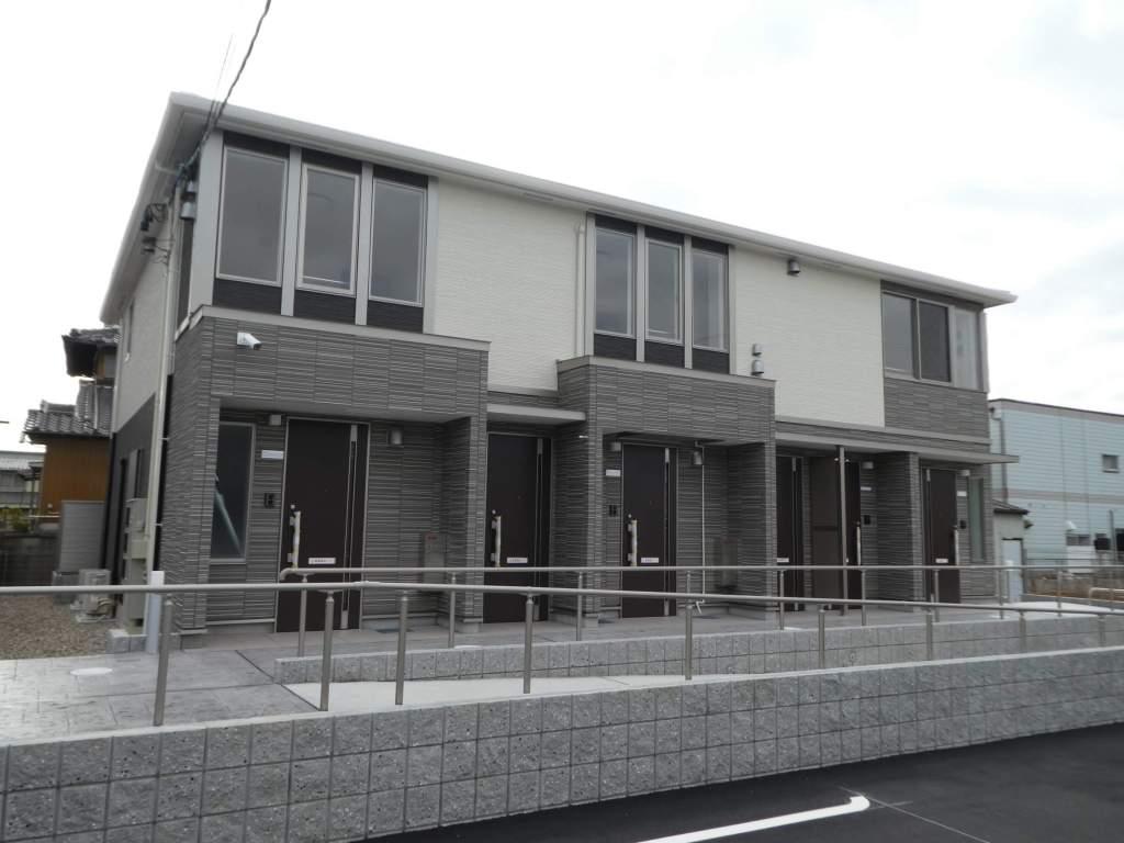 愛知県春日井市、春日井駅徒歩27分の新築 2階建の賃貸アパート