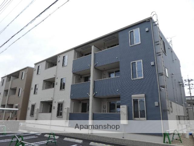 愛知県春日井市、勝川駅徒歩19分の新築 3階建の賃貸アパート