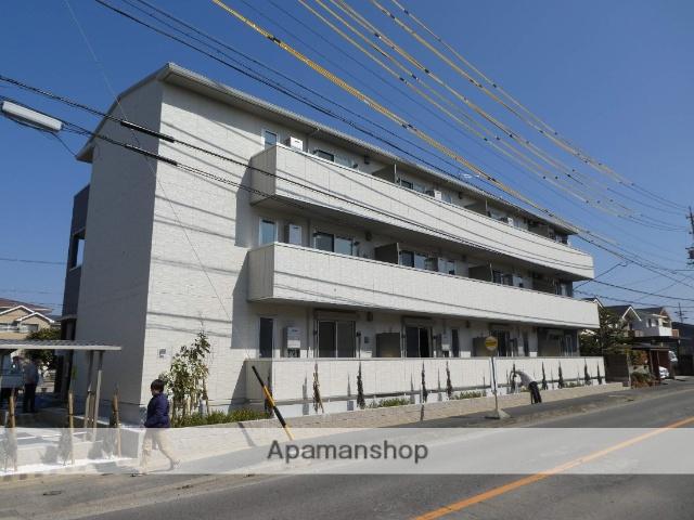 愛知県春日井市、勝川駅徒歩22分の新築 3階建の賃貸アパート