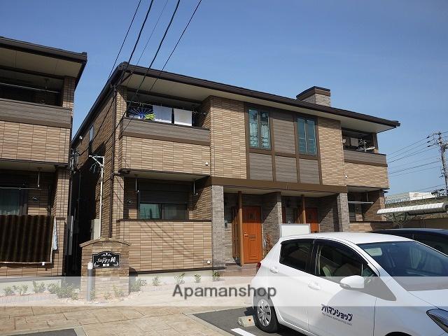 愛知県春日井市、勝川駅徒歩17分の築7年 2階建の賃貸アパート
