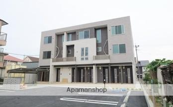 愛知県春日井市、勝川駅徒歩14分の新築 3階建の賃貸アパート