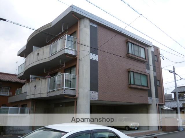 愛知県春日井市、勝川駅徒歩18分の築17年 3階建の賃貸マンション