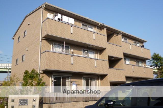 愛知県春日井市、勝川駅徒歩12分の築7年 3階建の賃貸アパート