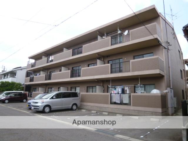 愛知県春日井市、勝川駅徒歩15分の築20年 3階建の賃貸マンション