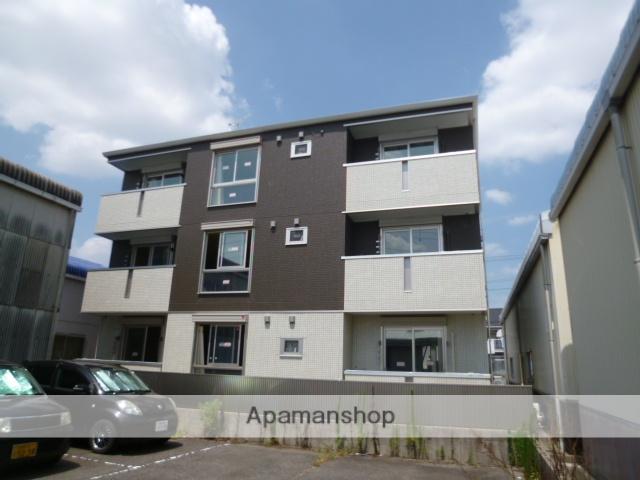 愛知県春日井市、勝川駅徒歩20分の築3年 3階建の賃貸アパート