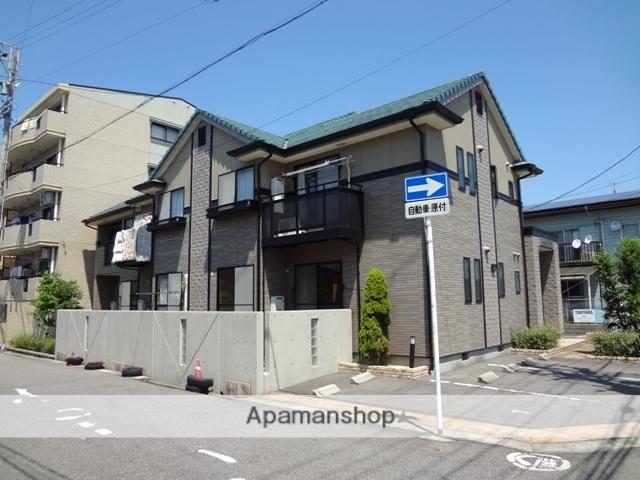 愛知県春日井市、勝川駅徒歩30分の築17年 2階建の賃貸アパート