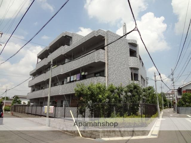愛知県春日井市、勝川駅徒歩9分の築19年 4階建の賃貸マンション