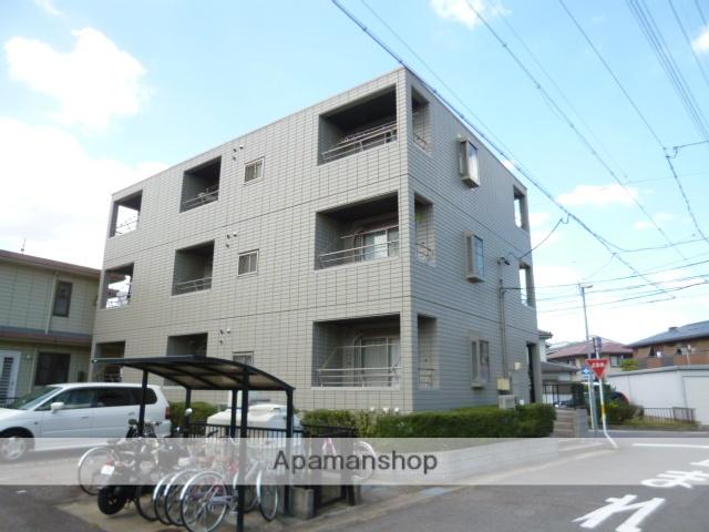 愛知県春日井市、勝川駅徒歩9分の築20年 3階建の賃貸マンション