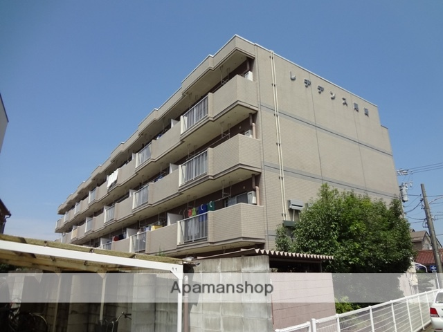 愛知県春日井市、勝川駅徒歩20分の築27年 4階建の賃貸マンション
