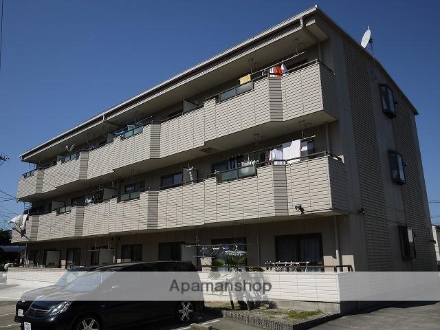 愛知県春日井市、勝川駅徒歩17分の築22年 3階建の賃貸マンション