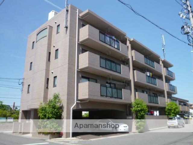愛知県春日井市、勝川駅徒歩18分の築26年 4階建の賃貸マンション