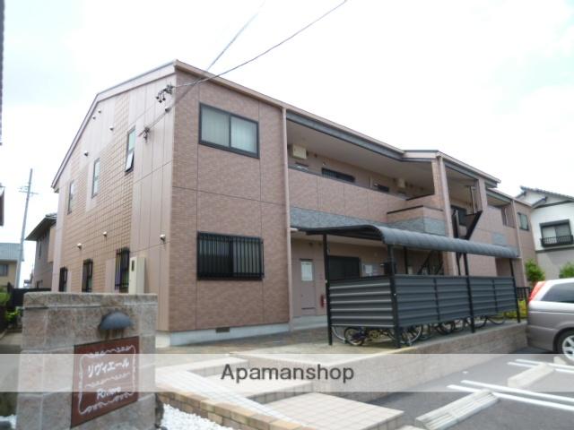愛知県春日井市、勝川駅徒歩17分の築17年 2階建の賃貸アパート