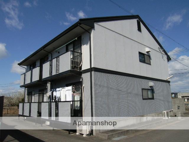 愛知県春日井市、春日井駅徒歩27分の築22年 2階建の賃貸アパート