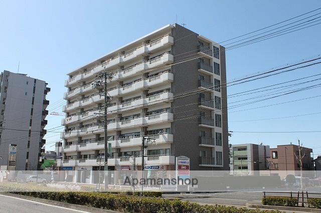 愛知県春日井市、勝川駅徒歩3分の築18年 8階建の賃貸マンション