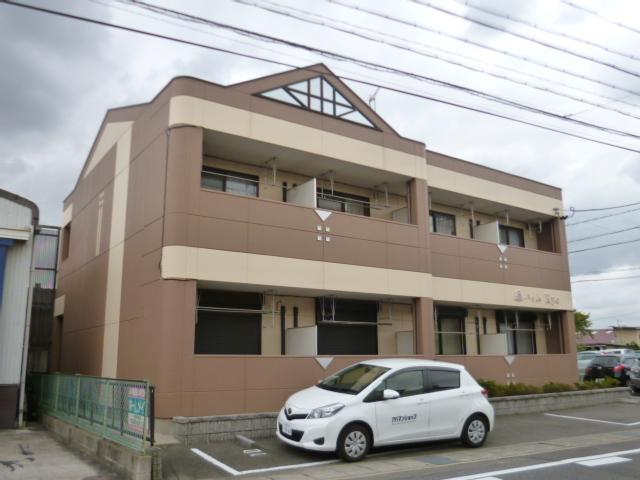 愛知県春日井市、勝川駅徒歩22分の築16年 2階建の賃貸アパート