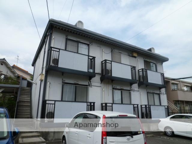 愛知県春日井市、勝川駅徒歩12分の築24年 2階建の賃貸アパート