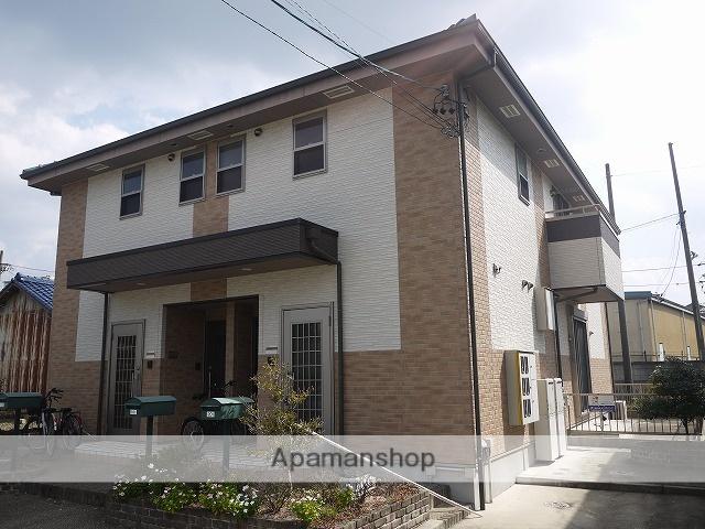 愛知県春日井市、勝川駅名鉄バスバス10分上大手下車後徒歩3分の築10年 2階建の賃貸アパート
