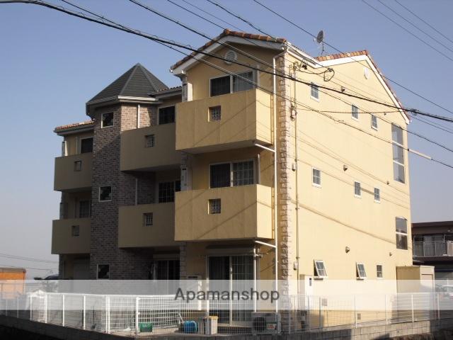 愛知県小牧市、田県神社前駅徒歩6分の築12年 3階建の賃貸アパート