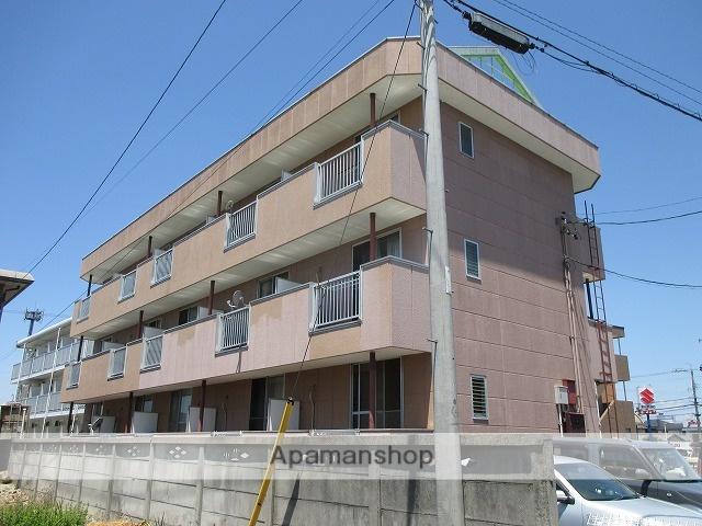 愛知県小牧市、間内駅徒歩16分の築27年 3階建の賃貸マンション