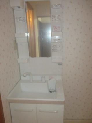 愛知県岩倉市東町掛目[3DK/48.6m2]の洗面所