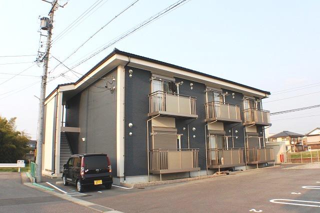愛知県犬山市、楽田駅徒歩26分の築7年 2階建の賃貸アパート