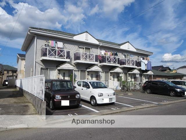 愛知県岡崎市、岡崎駅名鉄バスバス34分上里2丁目下車後徒歩4分の築13年 2階建の賃貸アパート