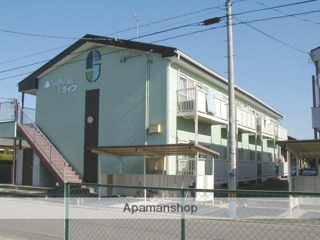 愛知県岡崎市、岡崎駅名鉄バスバス5分井内農協前下車後徒歩1分の築19年 2階建の賃貸アパート